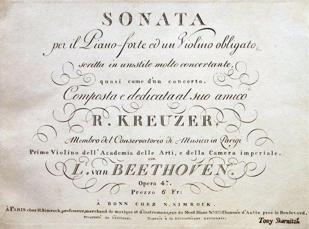 Kreutzer Sonata, Beethoven