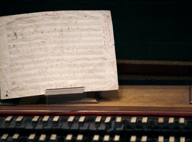 Ludwig van Beethoven handwritten partition