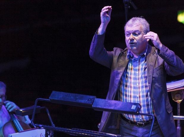 Michael Collins Classic FM Live 2013 rehearsals 7