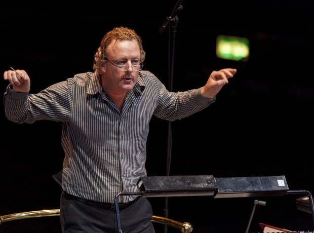 Howard Goodall Classic FM Live 2013 rehearsals