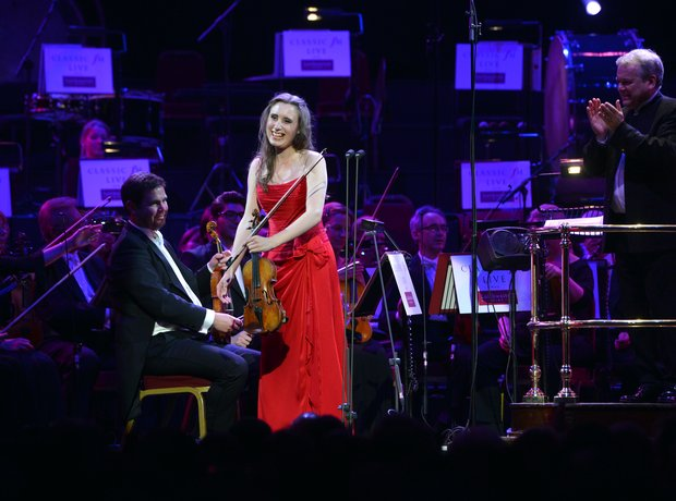 Jennifer Pike Classic FM Live 2013 the performance