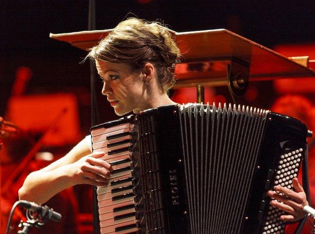 Ksenija Sidorova Classic FM Live 2013 rehearsals 4