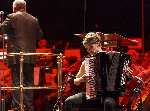 Ksenija Sidorova Classic FM Live 2013 rehearsals 6