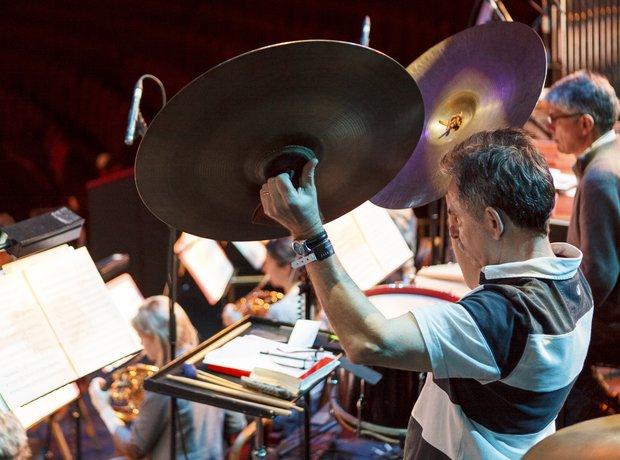 Philharmonia Orchestra Classic FM Live 2013 rehear
