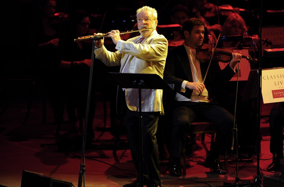 Sir James Galway Classic FM 2013 the performance