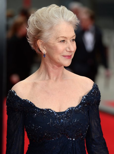 Dame Helen Mirren arrives at the Olivier Awards 2013