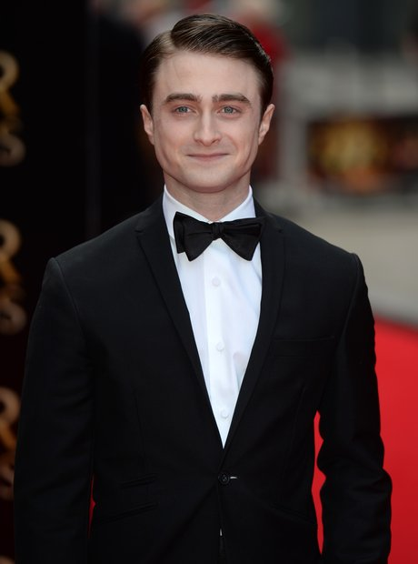 Daniel Radcliffe arrives at Olivier Awards 2013