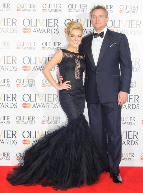 Hugh Bonneville and Sheridan Smith at the Olivier Awards 2013