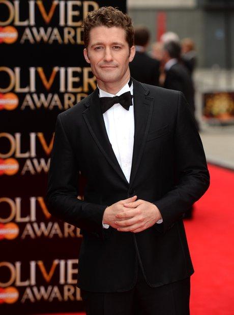 Matthew Morrison arrives at the Olivier Awards 2013