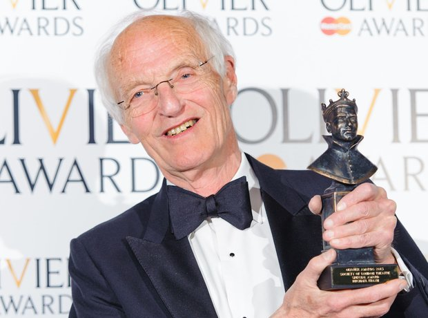 Michael Frayn at the Olivier Awards 2013