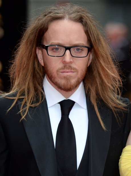 Tim Minchin arrives at the Olivier Awards 2013