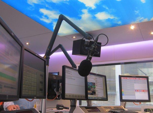 classic fm new studio