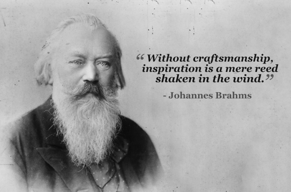 johannes brahms without craftsmanship
