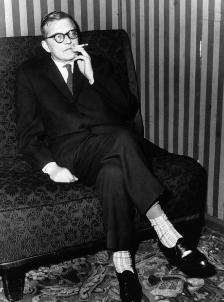 shostakovich smoking
