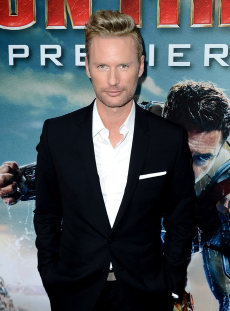 Brian Tyler at the Iron Man 3 premiere