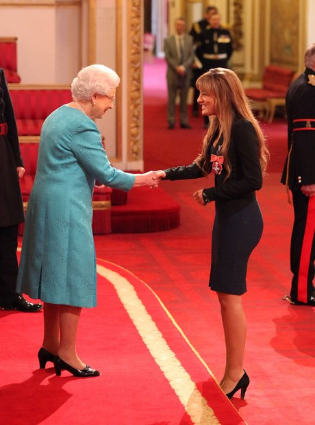 Nicola Benedetti receives MBE Buckingham Palace
