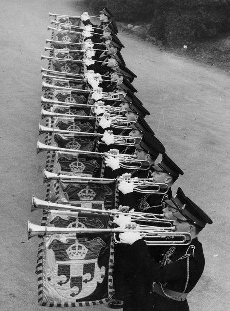 Queen Elizabeth II coronation 1952