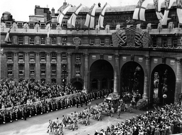 Queen Elizabeth II coronation 1953