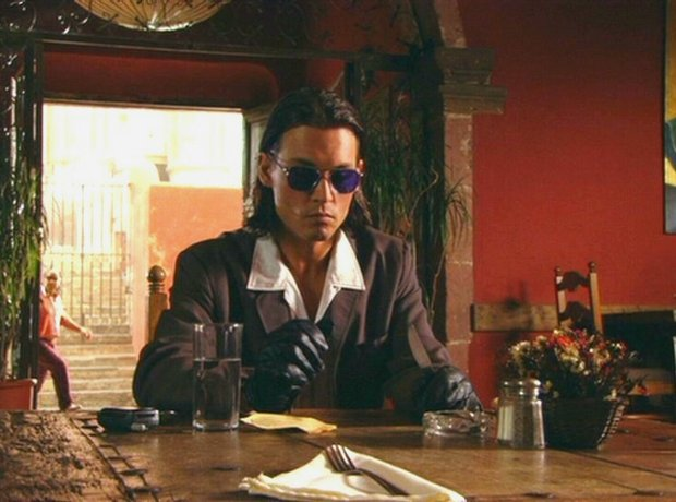 Johnny Depp Once upon a time in Mexico