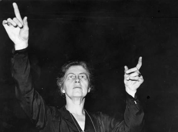 Nadia Boulanger conductor composer