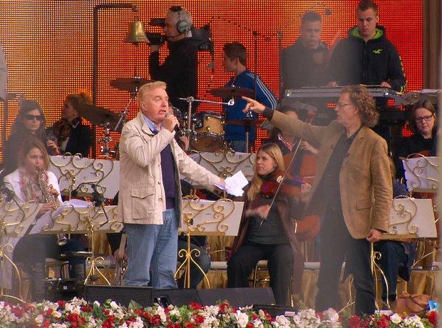 André Rieu Maastricht concert rehearsal