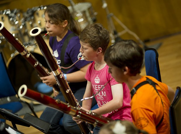 Berkshire Maestros Junior Bassoon Ensemble