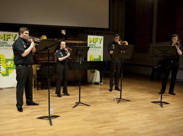Black Dyke Youth Trombone Quartet