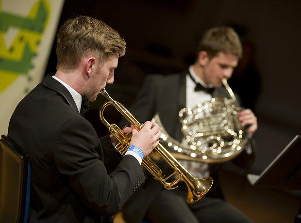 Carleon Comprehensive School Brass Quintet