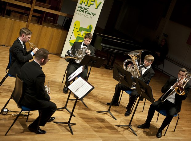 Carleon Comprehensive School Brass Quintet