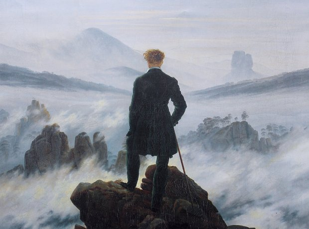 Caspar David Friedrich Sea of Mist