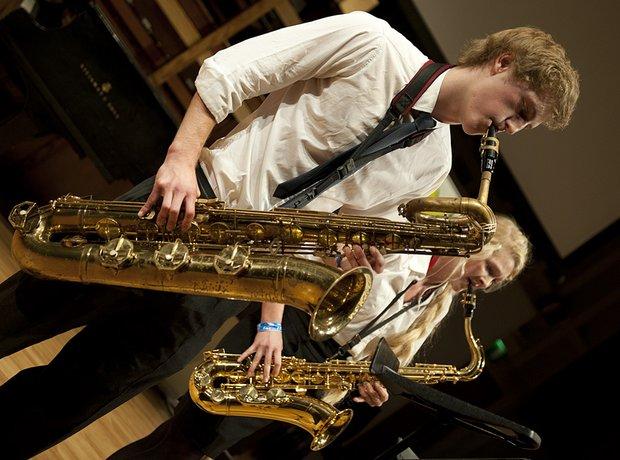 Exeter School Saxophone Quartet