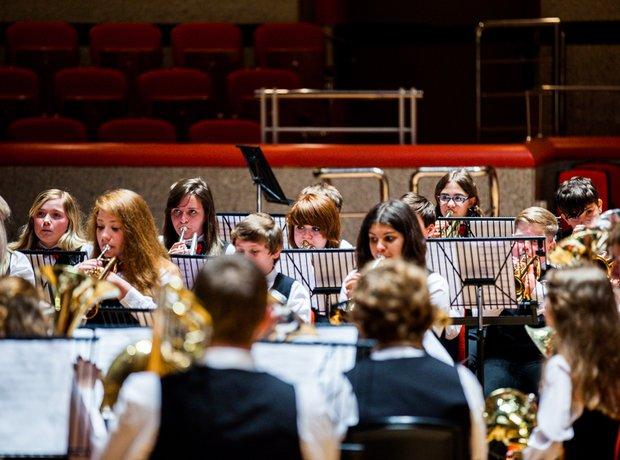 Fred Longworth High School Brass Band