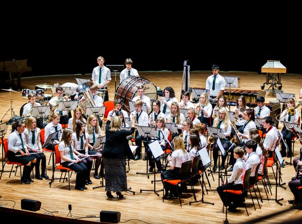 Newport Music Centre Senior Wind Band