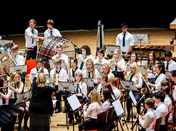 Newport Music Centre Senior Wind Band