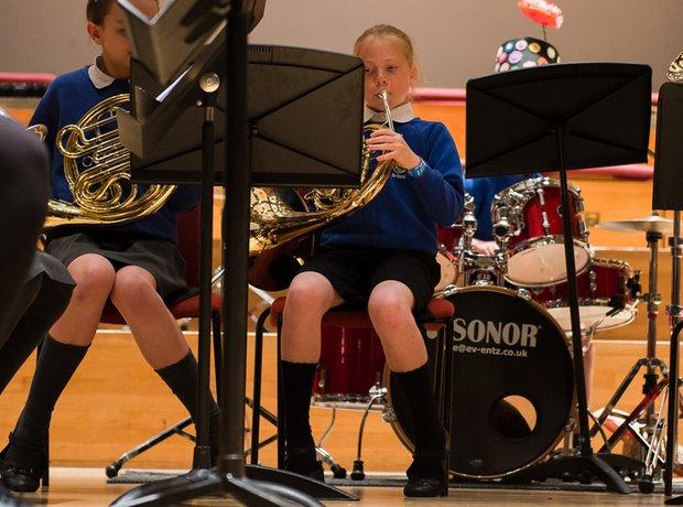 Old Stratford Primary School Brass National Festiv