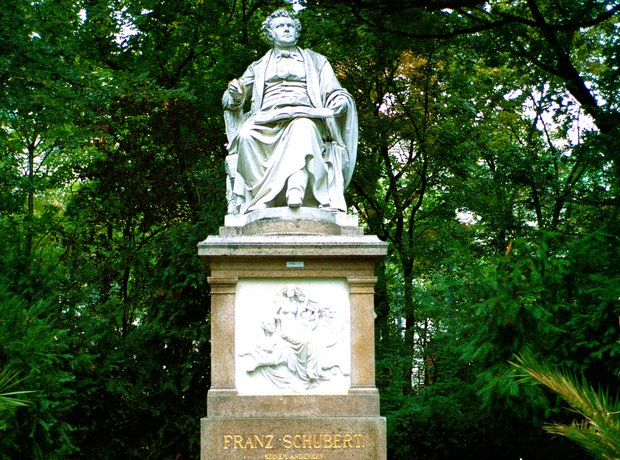 Schubert memorial Vienna