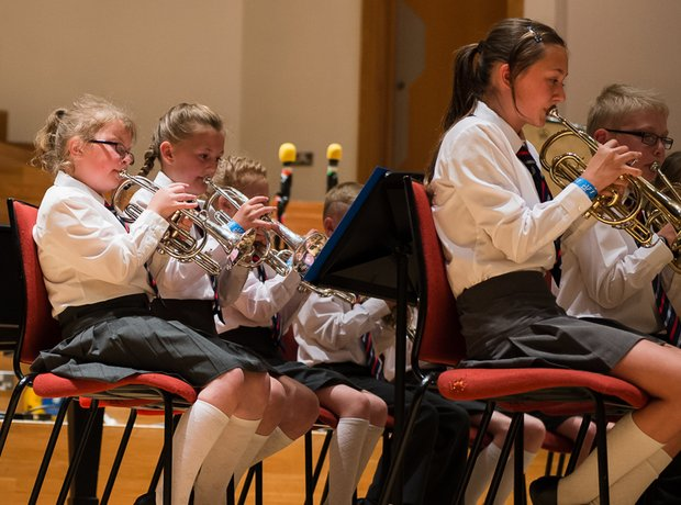 St James' C of E Primary Brass Band