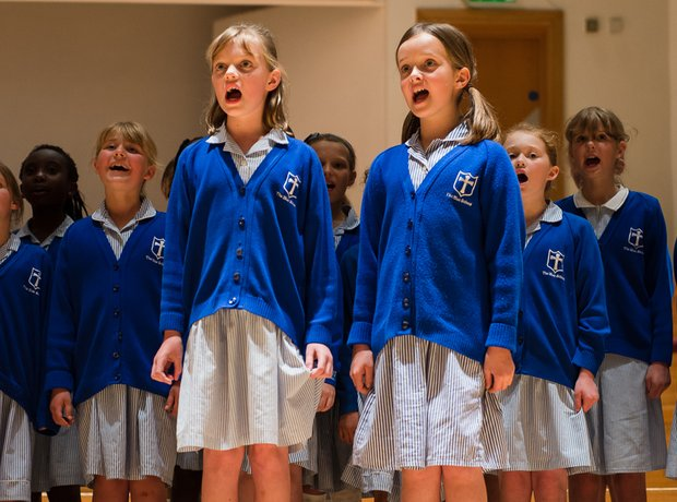 The Blue School Choir