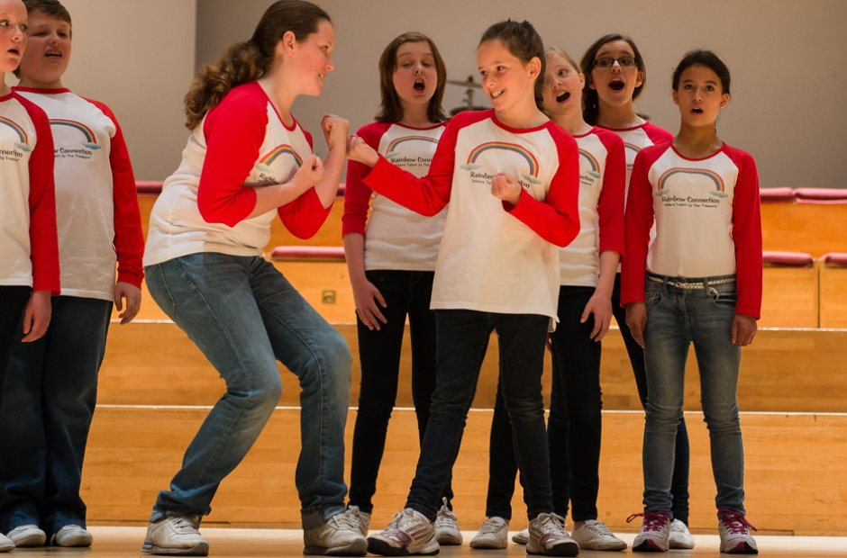 The Rainbow Connection Junior Choir