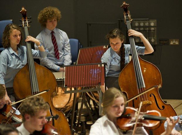 Carleon Comprehensive School String Orchestra