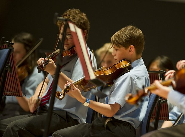 Carleon Comprehensive School String Orchestra