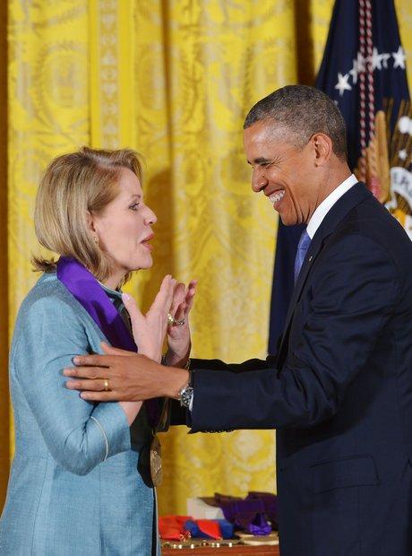 Renée Fleming and President Obama