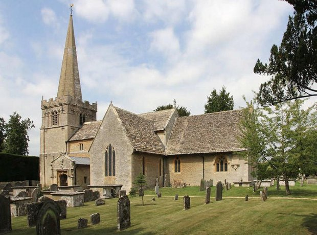 Vaughan Williams church Down Ampney