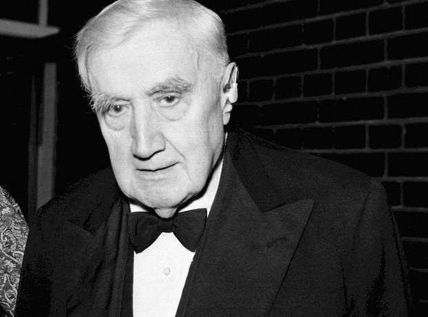 Vaughan Williams old age