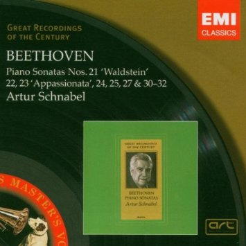 Artur Schnabel beethoven album cover
