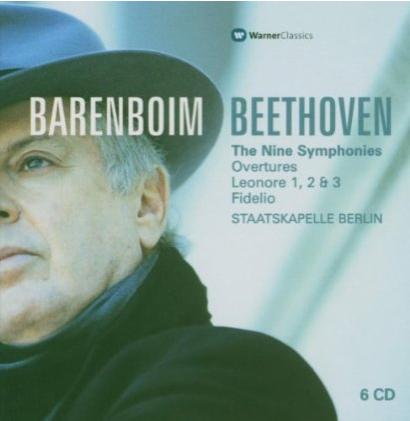 barenboim beethoven album cover