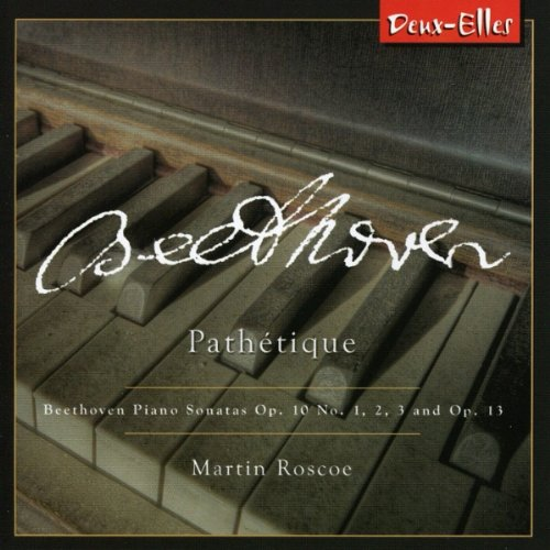Beethoven pathetique Martin Roscoe album cover
