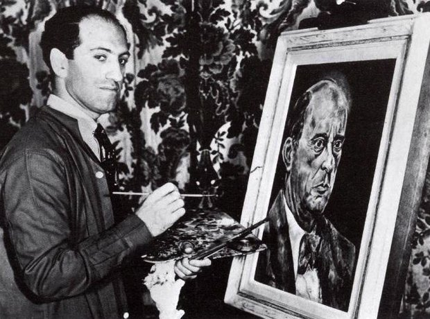 George Gershwin painting Arnold Schoenberg - Composers at leisure: 17 amazing... - Classic FM