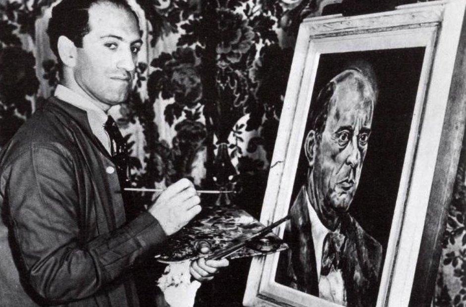 Gershwin painting Schoenberg