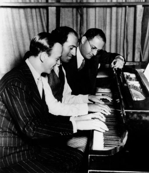 George and Ira Gershwin and Fred Astaire